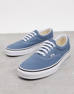 Сине-белые кроссовки Vans UA Era-Синий