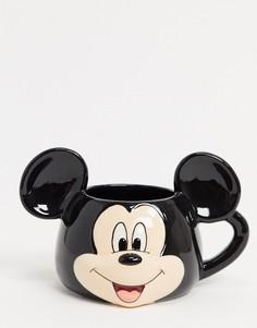 Кружка с Микки Маусом-Черный Disney