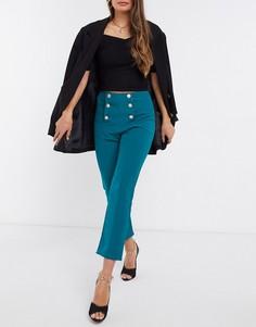 Зеленые зауженные брюки ISawItFirst-Зеленый
