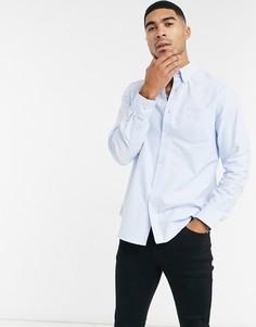 Оксфордская рубашка с длинными рукавами Ben Sherman-Синий