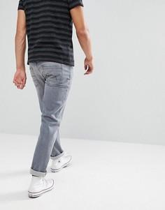 Серые джинсы прямого кроя Esprit-Серый