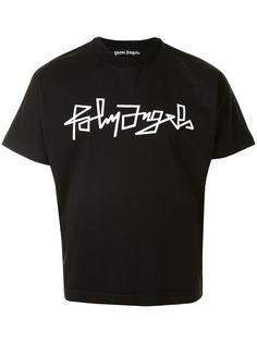 Palm Angels футболка с короткими рукавами и логотипом
