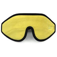 Маска для сна METTLE 3D ультра комфорт, желтый