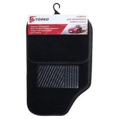 Комплект ковриков Torso 113835 4 шт. черный