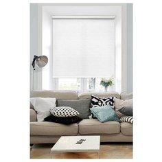 Рулонная штора Эскар Морзе (белый), 140х160 см