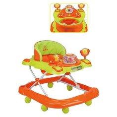 Ходунки Наша игрушка Bright салатовый/оранжевый