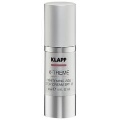 Отбеливающий антивозрастной Klapp X-treme Whitening Age Stop SPF25 30 мл