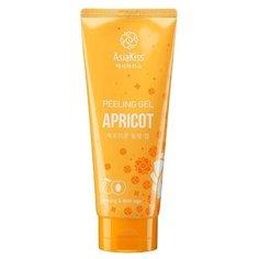 Asiakiss пилинг-гель для лица Apricot peeling gel с экстрактом абрикоса 180 мл