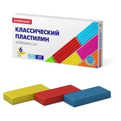 Пластилин ErichKrause Классический Basic 6 цветов/96 г (50557)