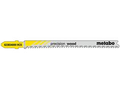 Пилка Metabo T308BP HCS для мягкой древесины/фанеры 5шт 623834000