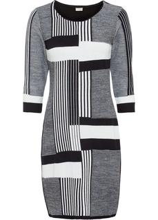 Вязаное платье Bonprix