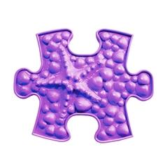 Модульный коврик ИграПол Звездочка маленький фиолетовый