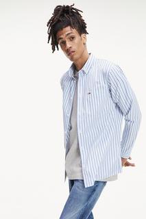 Рубашка мужская Tommy Hilfiger DM0DM06579 голубая 48