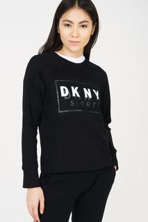 Толстовка женская DKNY DP8T6278/BLK черная 44-46