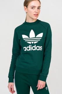 Толстовка женская Adidas DV2623 зеленая 38