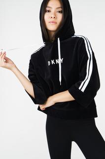 Толстовка женская DKNY DP8T5819/BLW черная 46