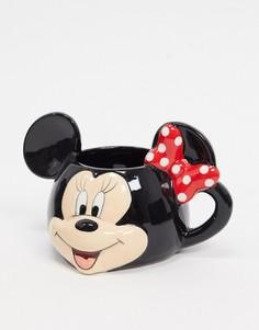 Кружка с принтом «Минни Маус» Disney-Черный