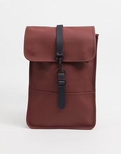Маленький рюкзак бордового цвета Rains-Синий