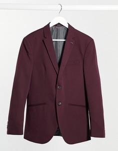 Бордовый пиджак Jack & Jones Premium-Красный