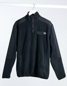 Черная флисовая кофта Dickies Port Allen-Черный