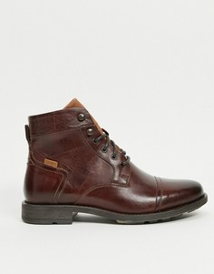 Коричневые кожаные ботинки на шнурках Levis Reddinger-Коричневый Levis®