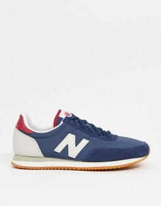 Темно-синие/серые кроссовки New Balance 720-Темно-синий