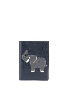 Thom Browne обложка для паспорта с аппликацией