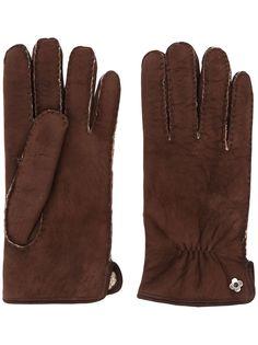 Lardini меховые перчатки