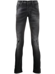Dondup джинсы скинни George с эффектом потертости