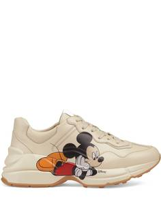 Gucci кроссовки Rhyton из коллаборации с Disney