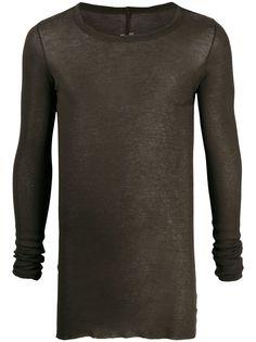 Rick Owens футболка с длинными рукавами