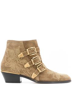 Chloé ботинки Susanna с заклепками