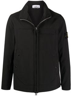 Stone Island легкая куртка с высоким воротником