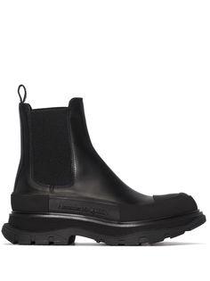 Alexander McQueen ботинки челси на массивной подошве
