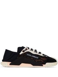 Dolce & Gabbana кроссовки NS1 на шнуровке