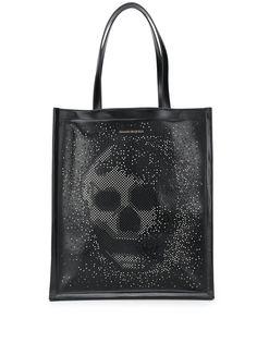 Alexander McQueen сумка-тоут с декором Skull