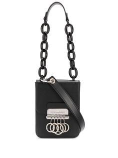 Dsquared2 сумка на плечо с металлическим декором