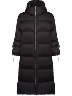 Prada куртка-пуховик длины миди