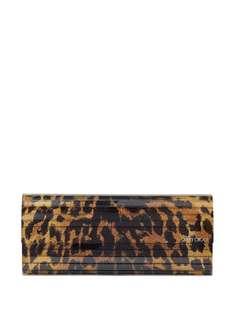Jimmy Choo клатч Sweetie с леопардовым принтом