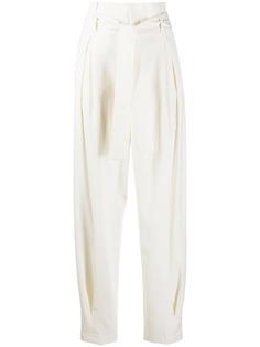 RedValentino зауженные брюки с поясом