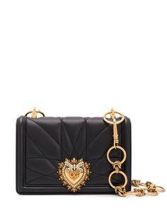 Dolce & Gabbana стеганая сумка на плечо Devotion