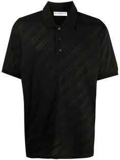 Givenchy рубашка поло с логотипом