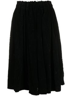 Comme Des Garçons юбка А-силуэта с завышенной талией
