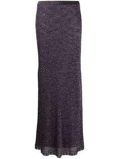 M Missoni трикотажная юбка с эффектом металлик