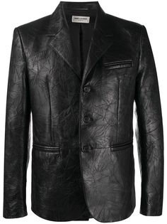 Saint Laurent однобортный пиджак