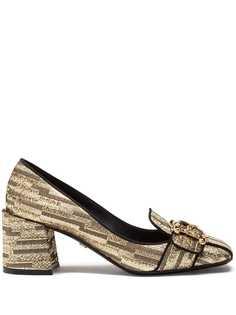 Dolce & Gabbana лоферы на блочном каблуке