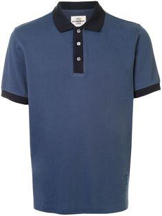 Kent & Curwen рубашка поло с контрастным воротником