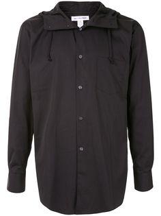 Comme Des Garçons Shirt рубашка с капюшоном и длинными рукавами