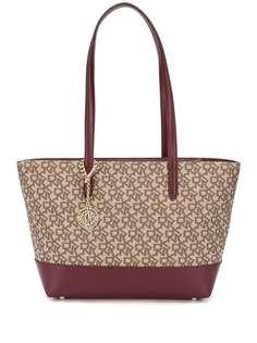 DKNY сумка-тоут с монограммой