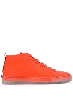 Hide&Jack высокие кроссовки на прозрачной подошве